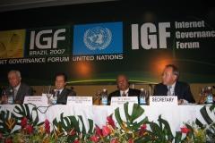IGF Rio de Janeiro Nov 2007