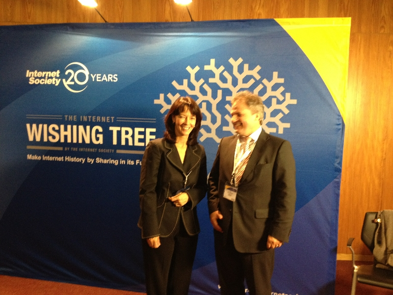 with Lynn St. Amour (ISOC)